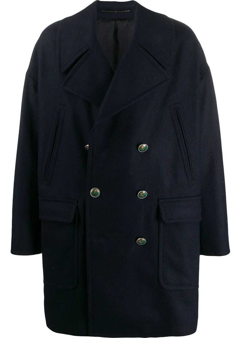 Givenchy Wool Coat BLUE