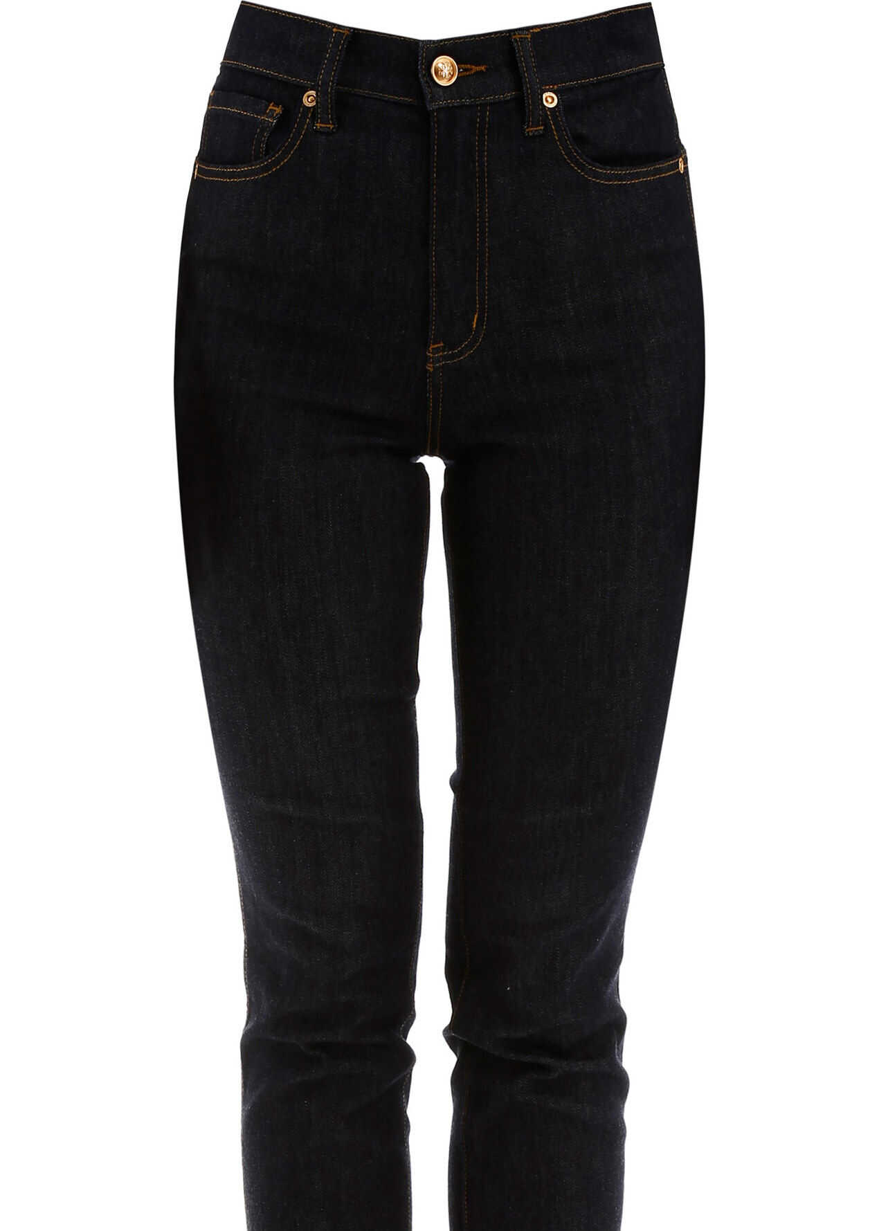 Tory Burch Jeans With Embroidered Logo RESIN RINSE