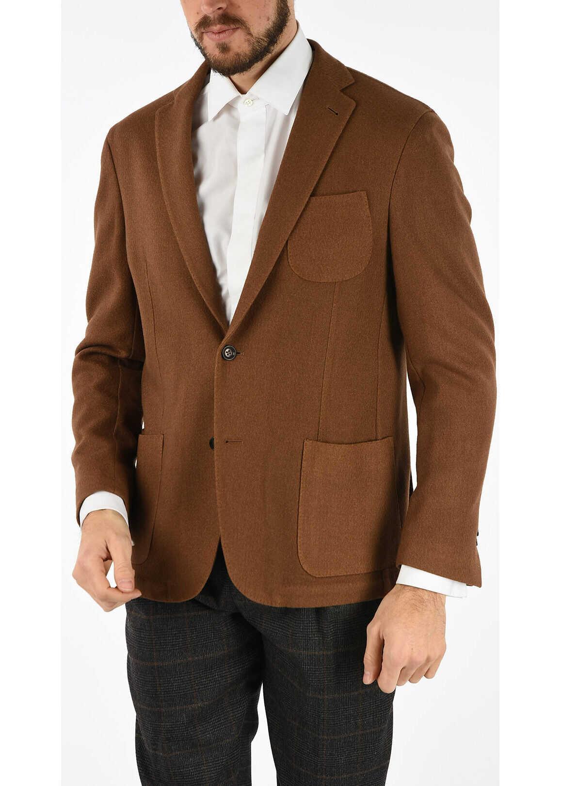 ID camelhair 2-button blazer thumbnail