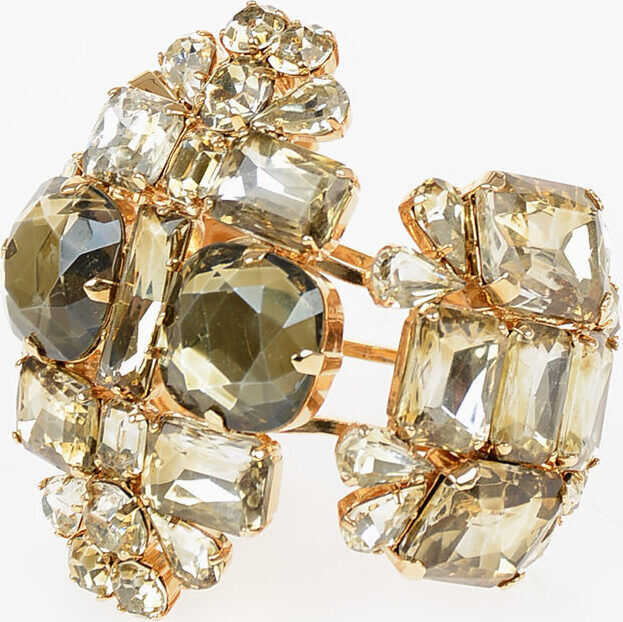 DSQUARED2 Stiff Bracelet with Jewel GOLD