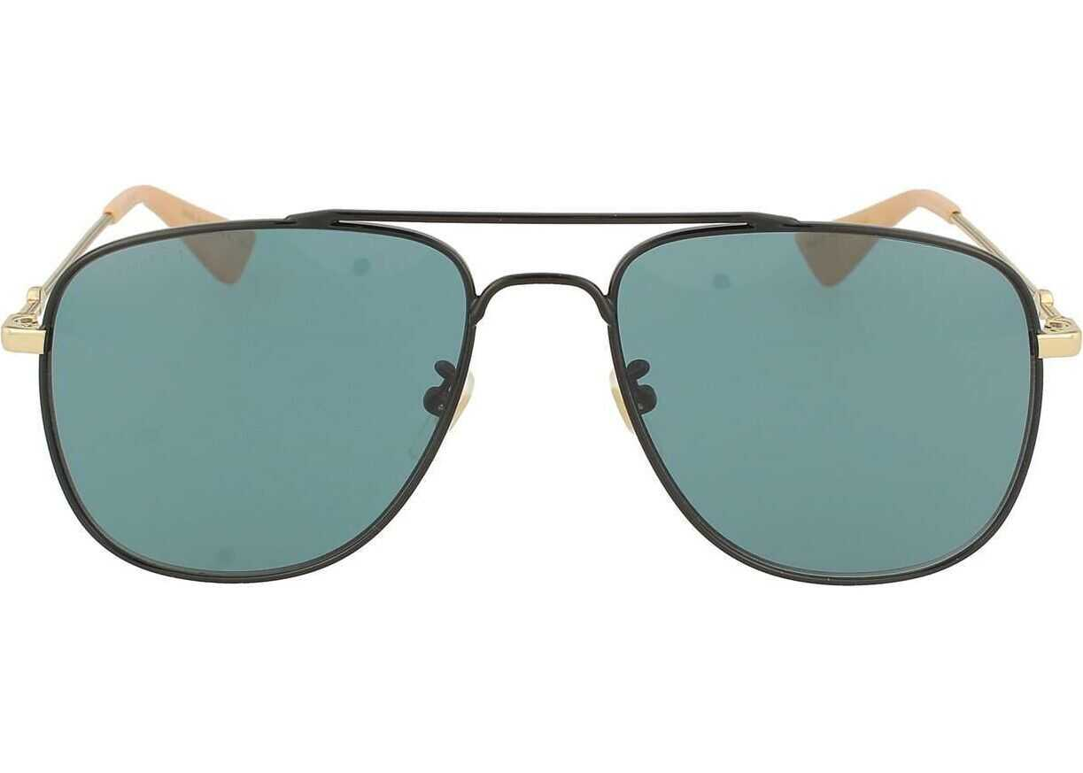 Gucci Metal Sunglasses BLACK