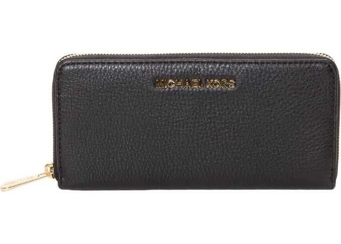 Michael Kors Bedford Wallet In Black Black