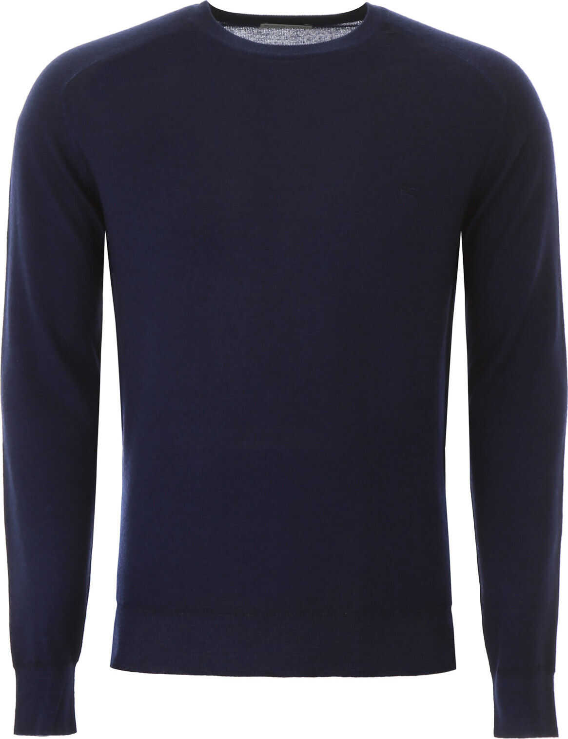 ETRO Pullover With Pegaso Embroidery BLU