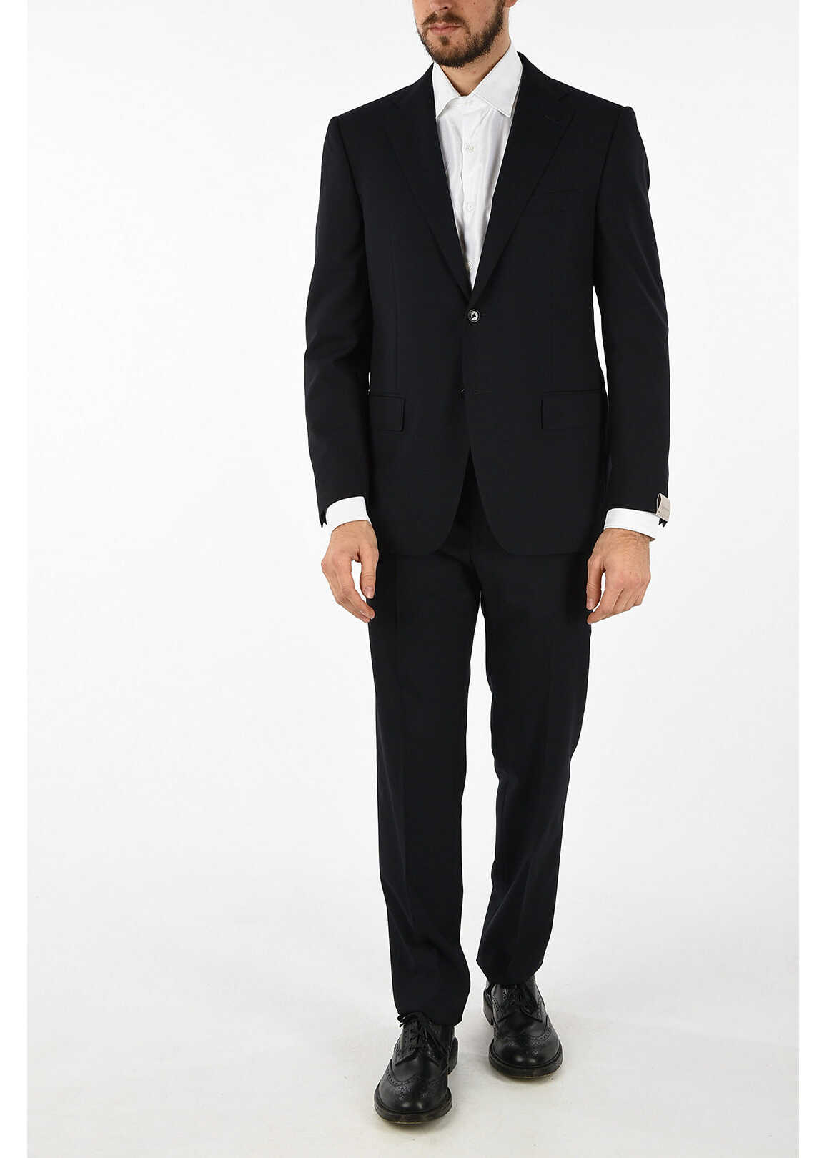 side vents tattersall check MANTUA 2-button suit thumbnail