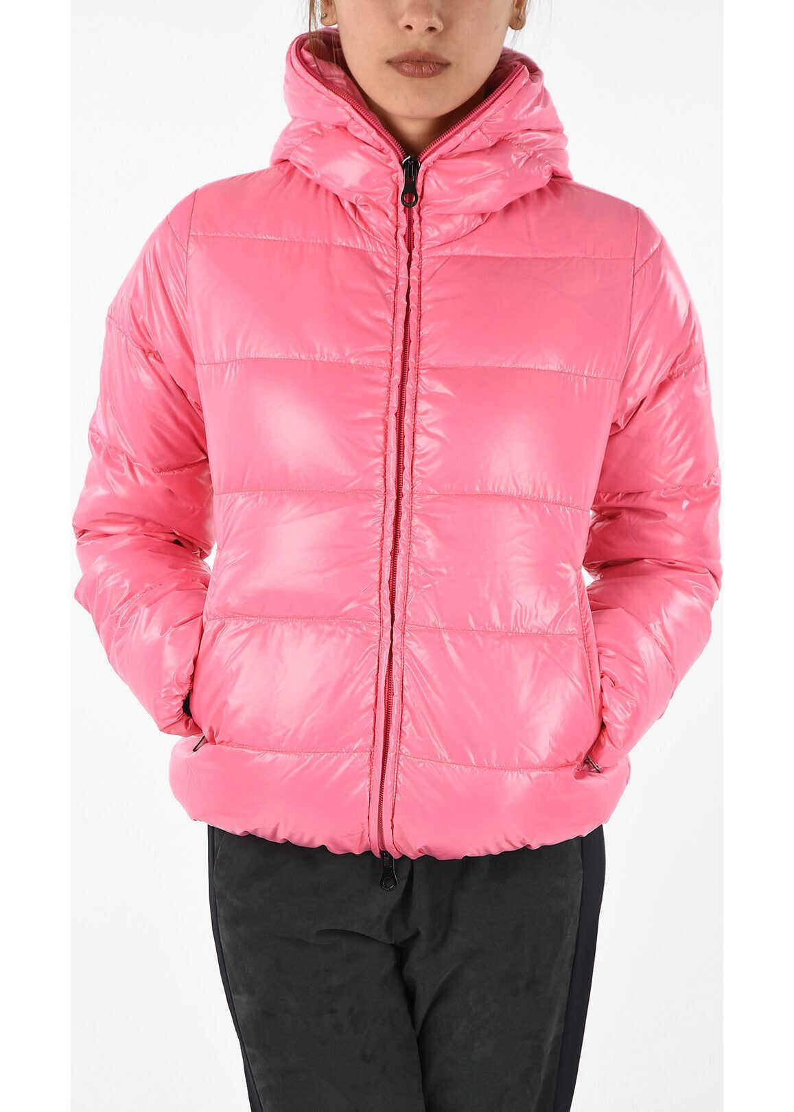 Duvetica Hooded THIACINQUE Down Jacket PINK