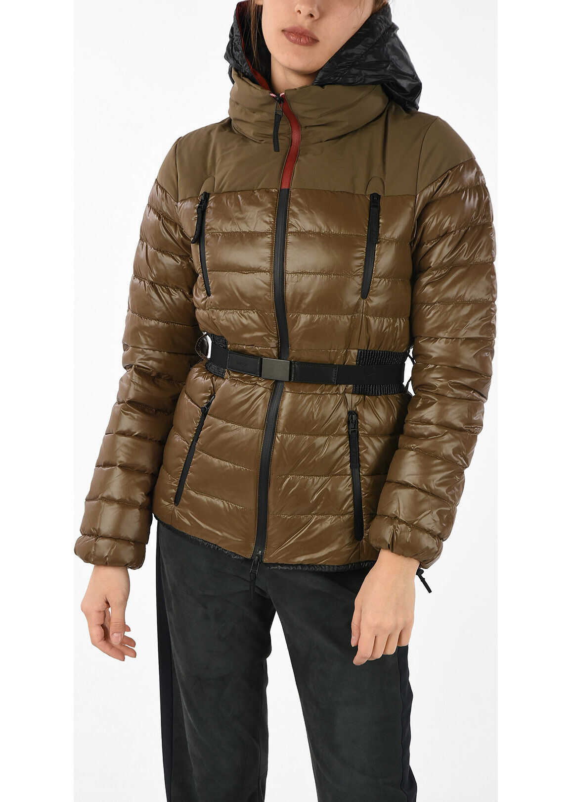 Duvetica Hooded CATRIN Down Jacket BROWN