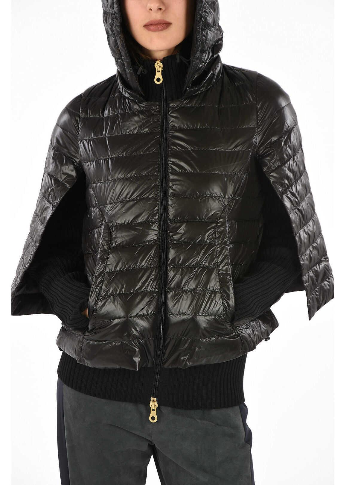 Duvetica Virgin Wool CLIONA down Jacket BLACK