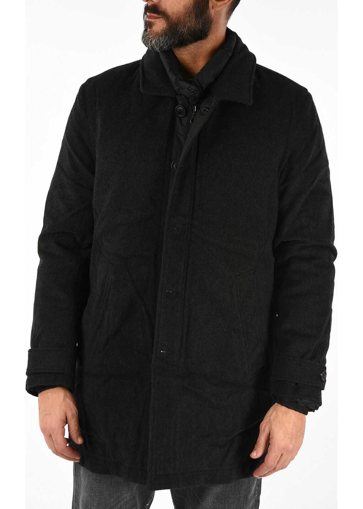 Duvetica Detachable Down Jacket SEAN Coat Loro Piana&Co. GRAY