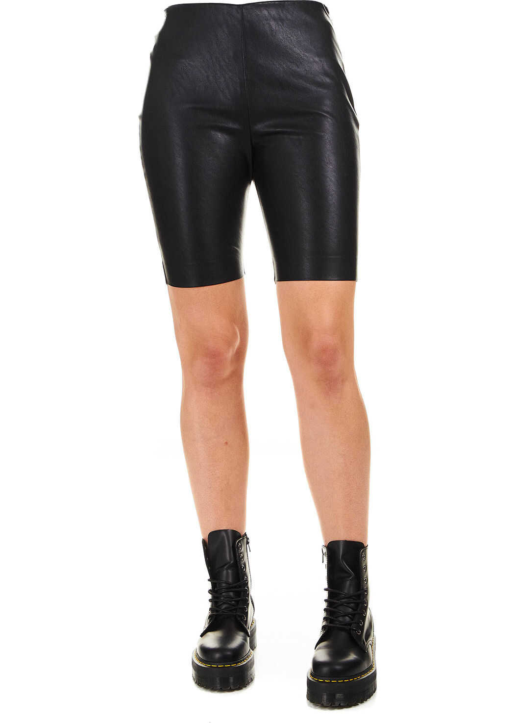 """Bike shorts in faux leather """"Volare"""""""