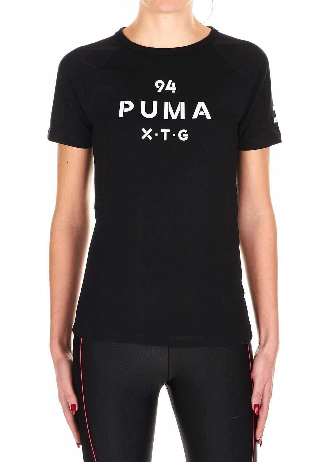 PUMA XTG Graphic Top Black