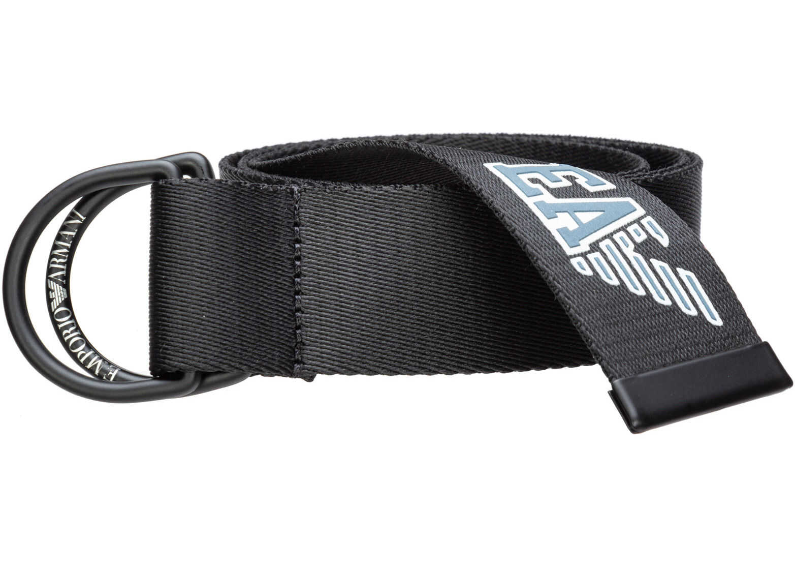 Emporio Armani Belt Cotton Black