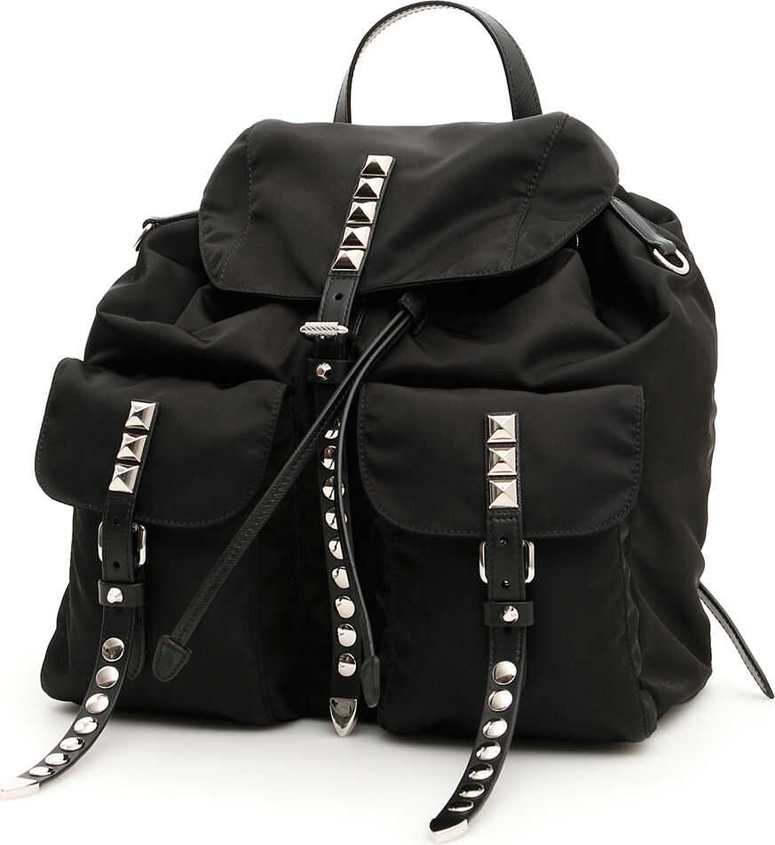 Prada New Vela Backpack NERO