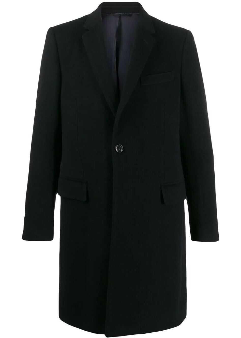 Dolce & Gabbana Wool Coat BLACK