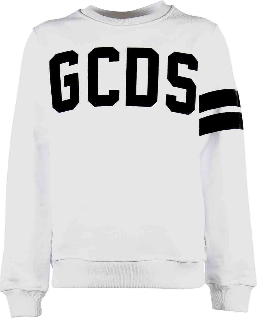 White Sweatshirt With Logo