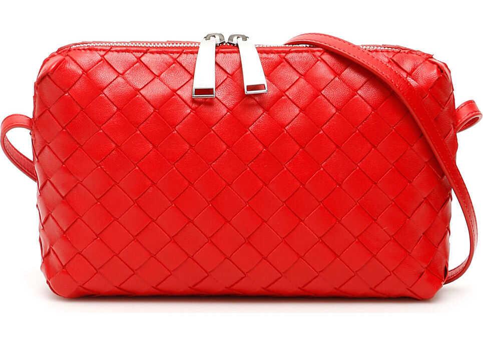 Bottega Veneta Nodini Crossbody Bag BR RED 20 B RED20 S