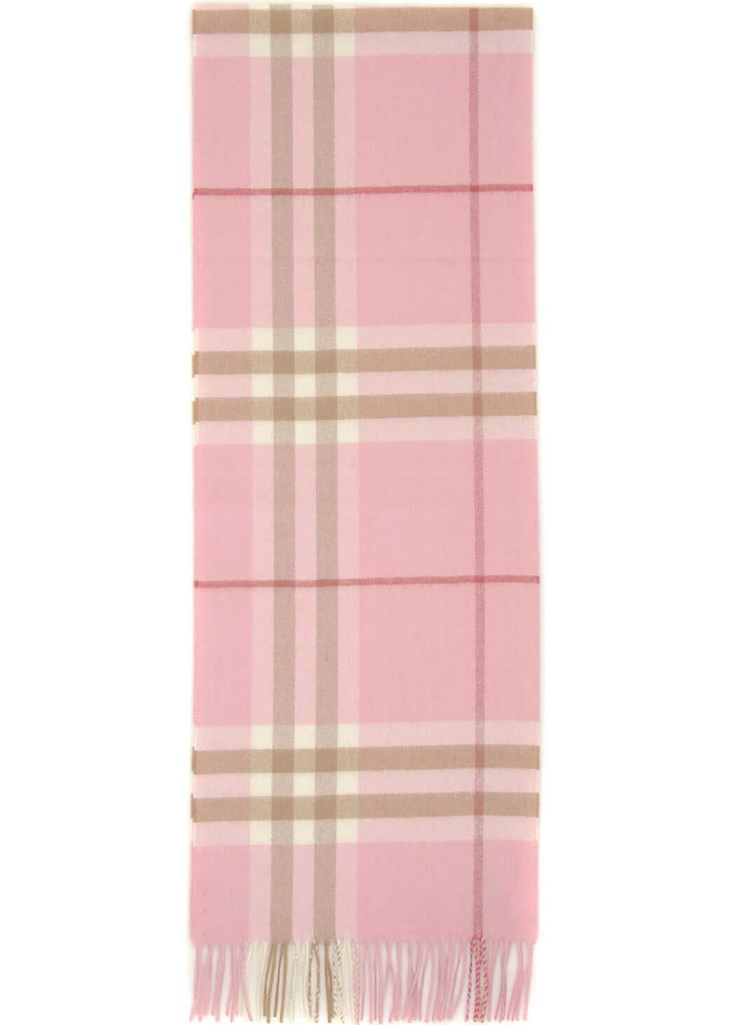 Burberry Giant Check Scarf CANDY PINK