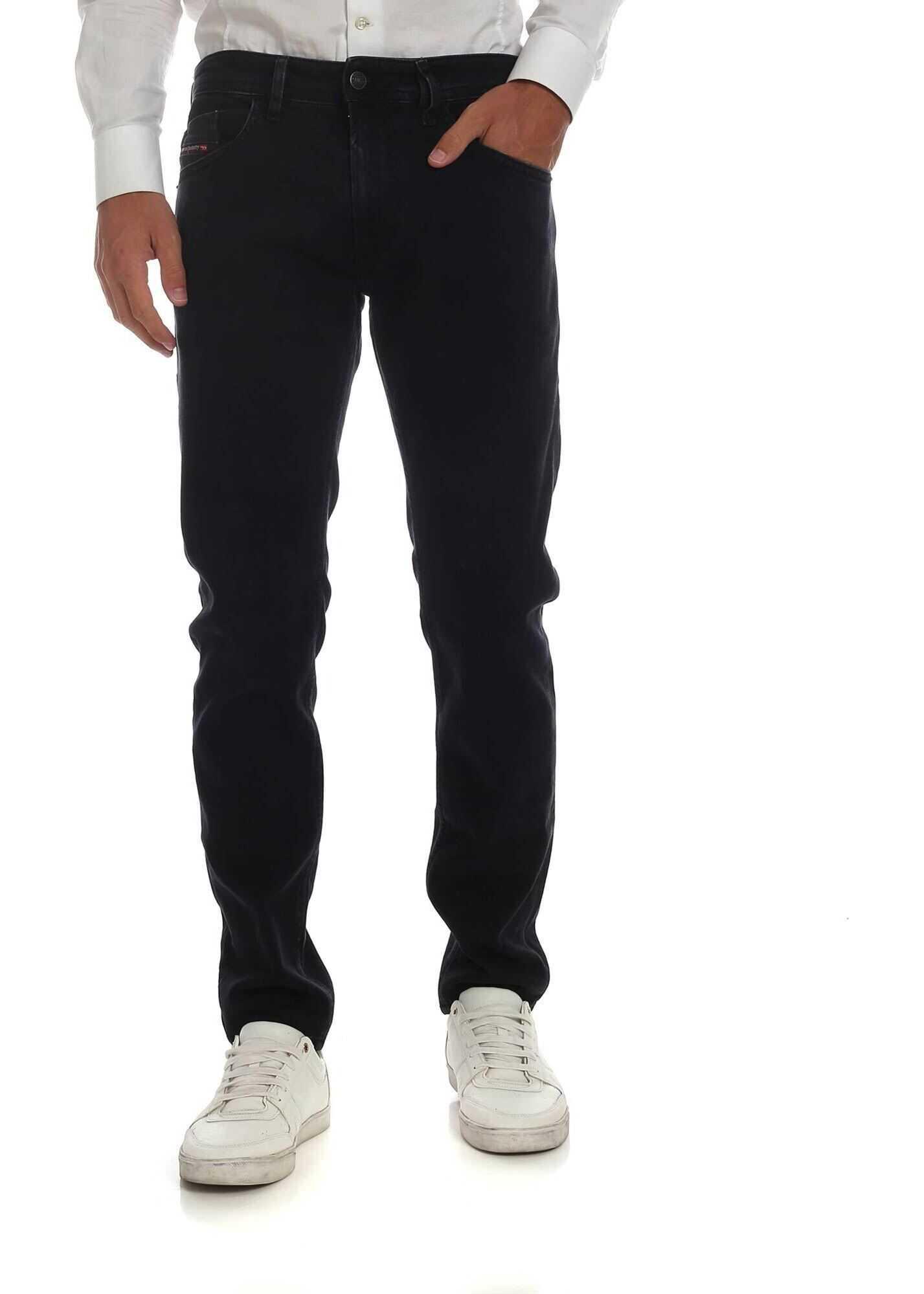 Diesel Tommer Jeans In Black* Black