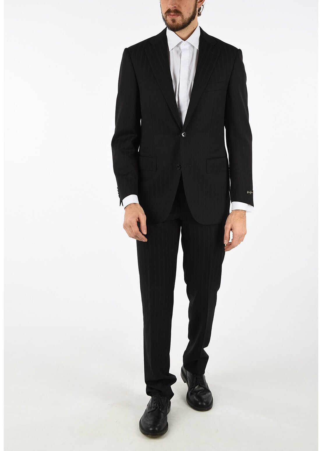 bengal striped super 110's LEADER 2-button suit thumbnail