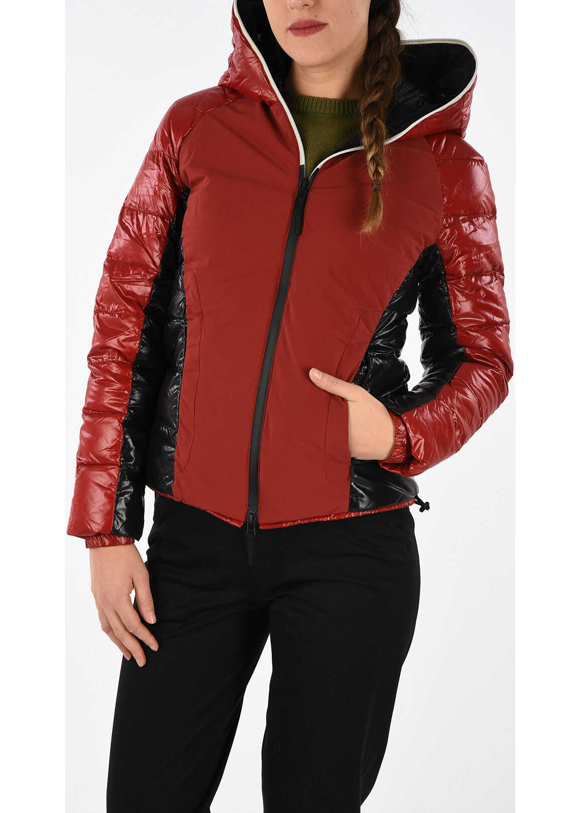 Duvetica Hooded CIARA Down Jacket RED