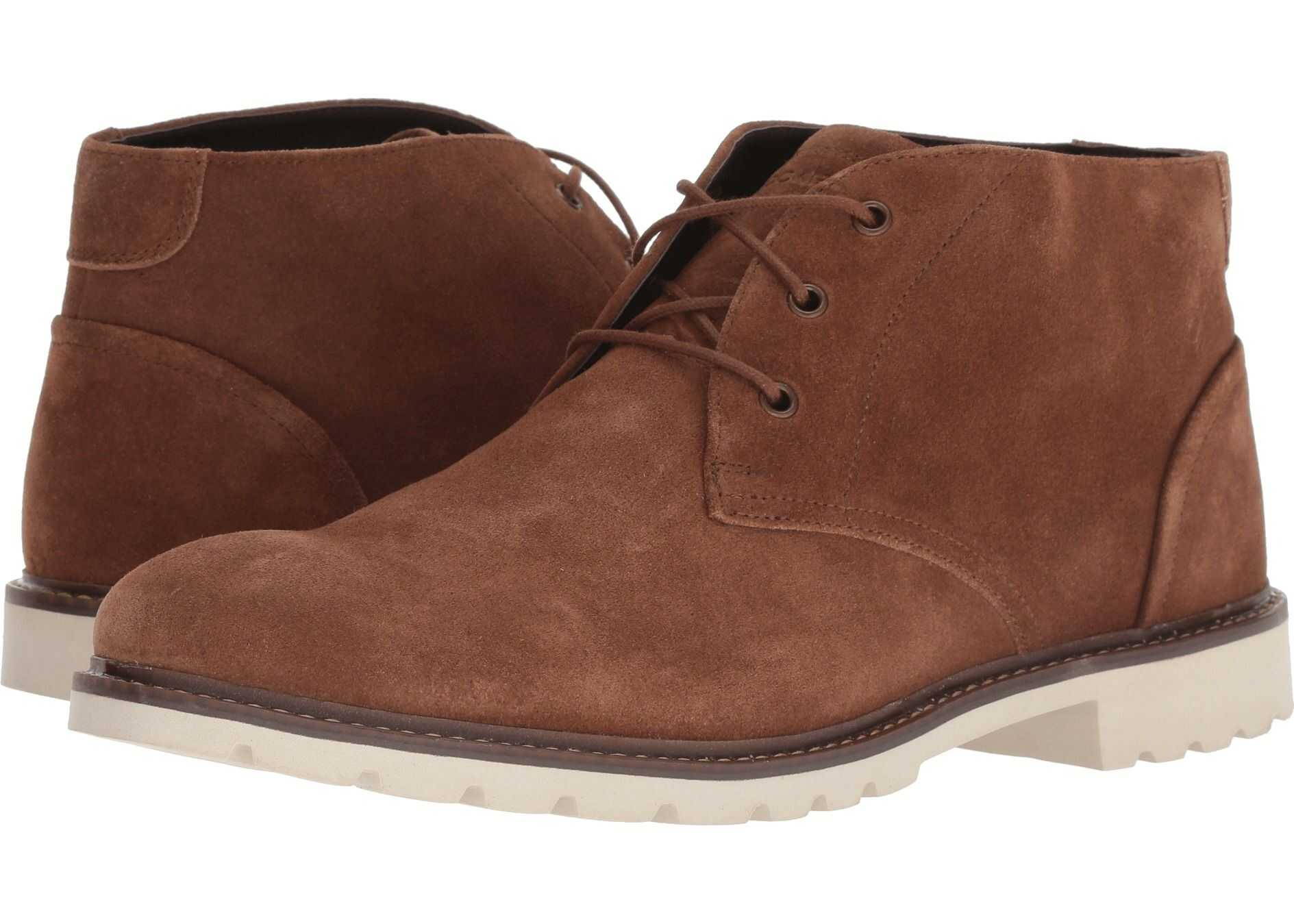 Rockport Sharp and Ready Chukka Tobacco