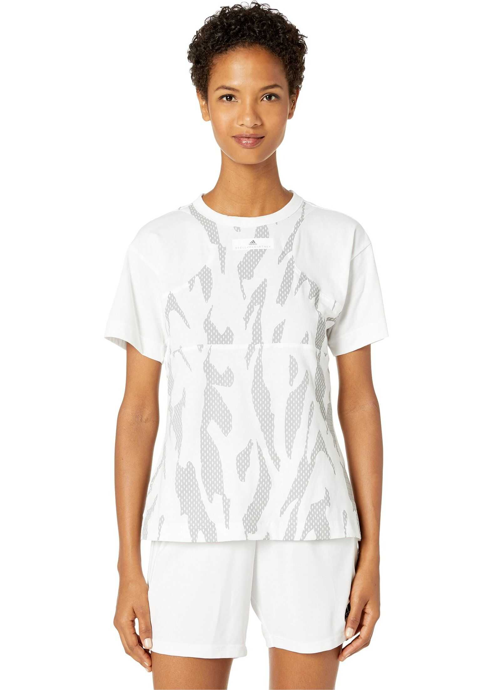 adidas by Stella McCartney Abstract Graphic Tee EA2610 White