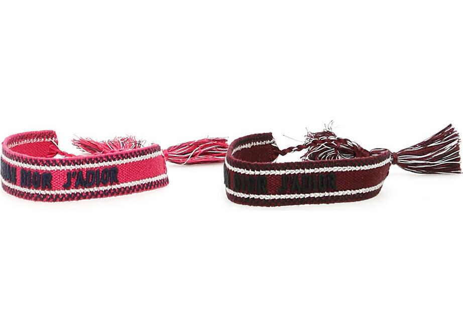 Dior J'adior Bracelets PINK BURGUNDY