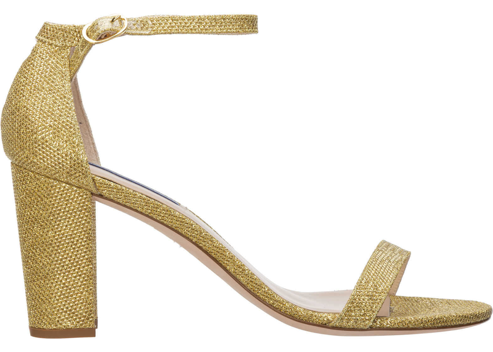 Stuart Weitzman Sandals Nearlynude Gold