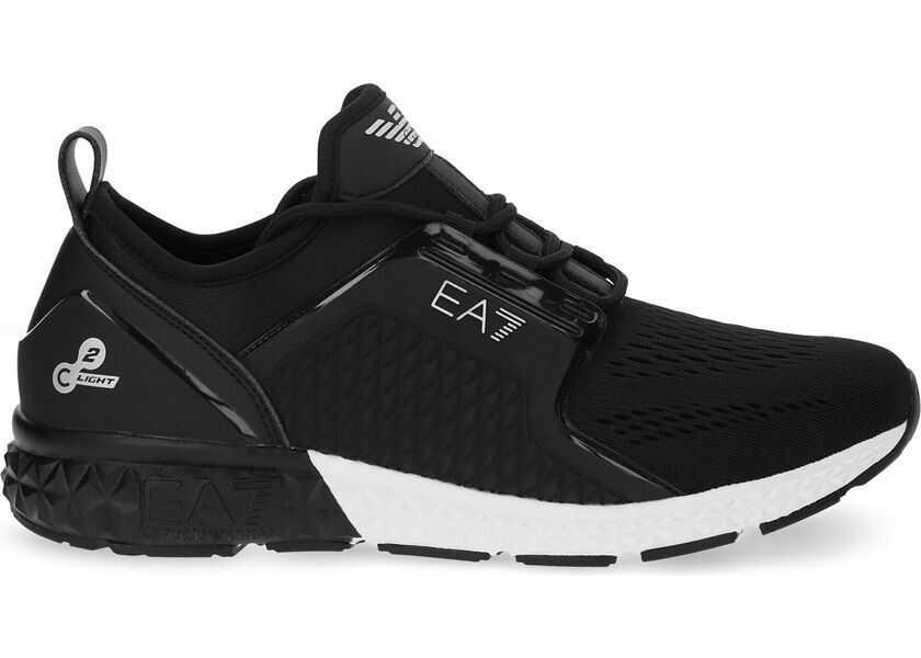 priză imagini detaliate super speciale Pantofi sport Emporio Armani Polyester Sneakers BLACK Barbati ...