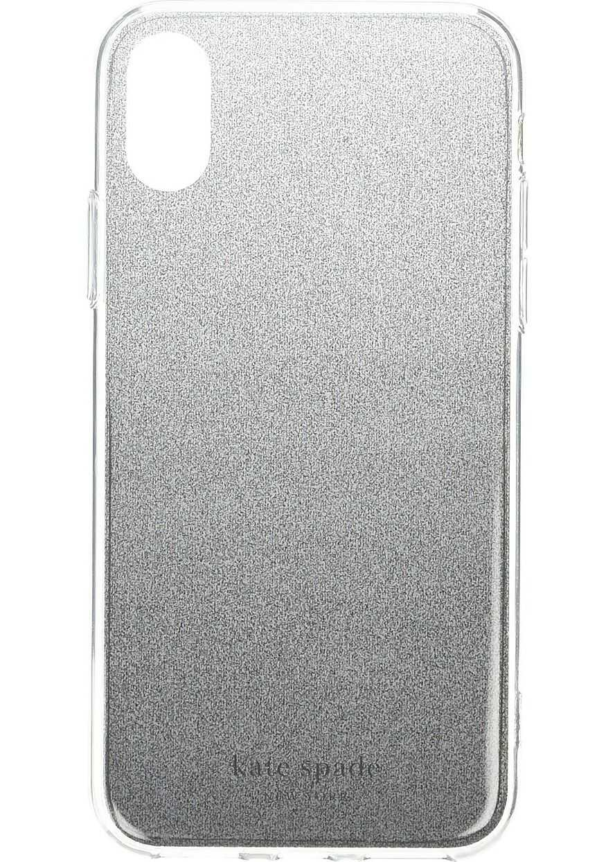 Kate Spade New York Glitter Ombre Phone Case for iPhone XS Black