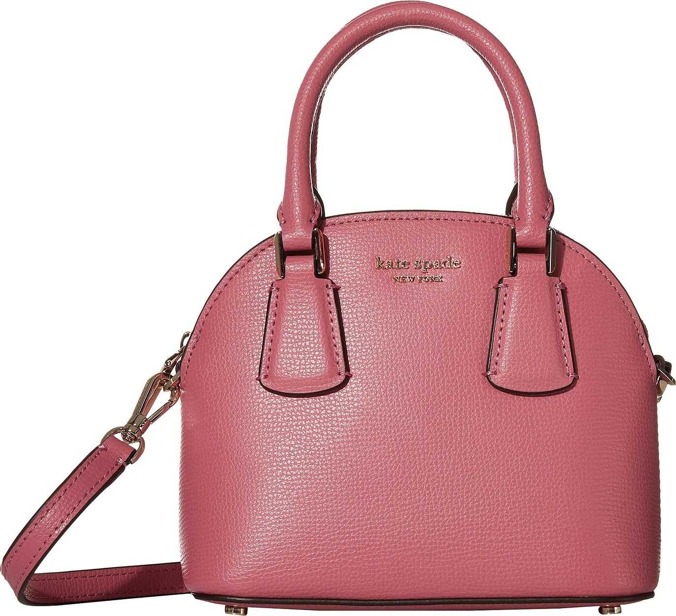 Kate Spade New York Sylvia Mini Dome Satchel Blustery Pink