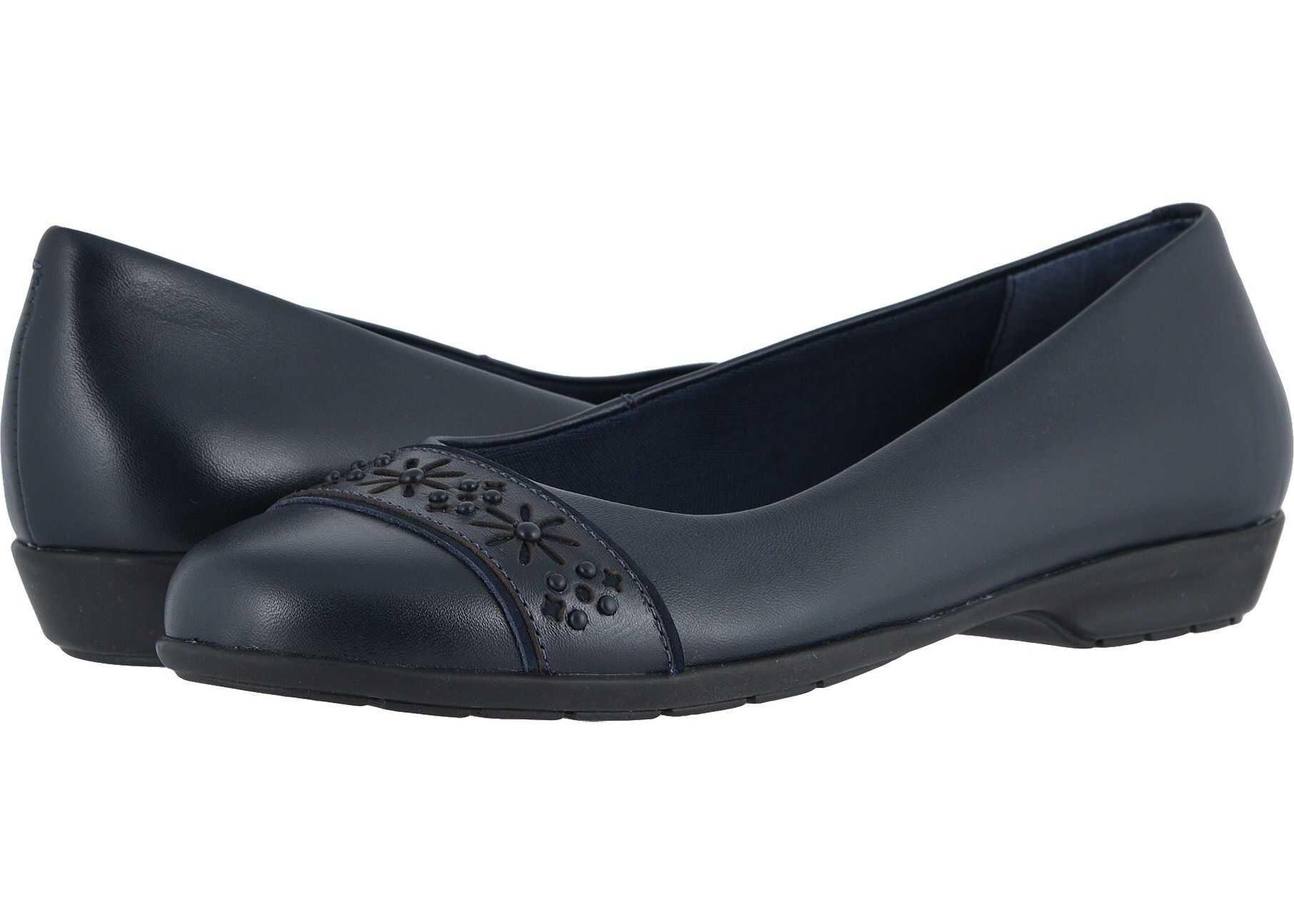 Walking Cradles Francine Navy Leather/Nubuck