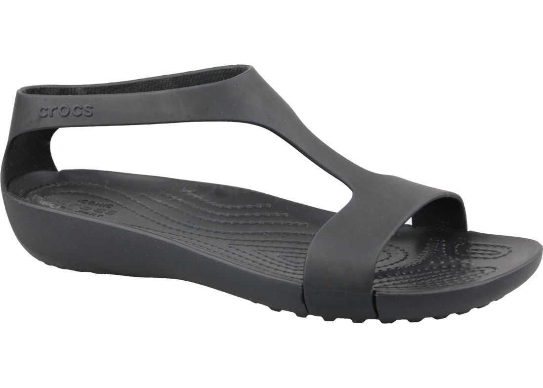 Crocs W Serena Sandals Black imagine b-mall.ro