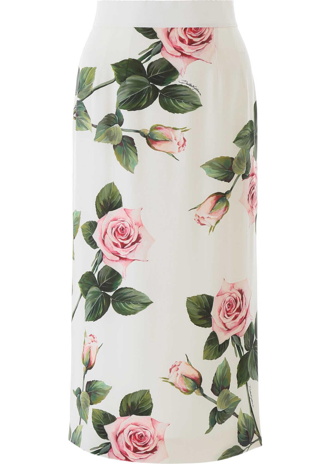 Dolce & Gabbana F4BTFT FSAZD ROSE ROSA FDO PANNA