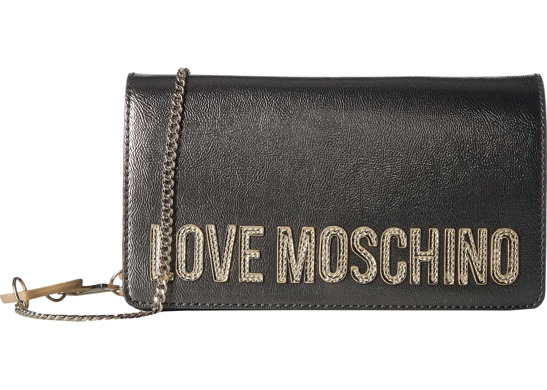 LOVE Moschino Square Logo Belt Bag Fucile
