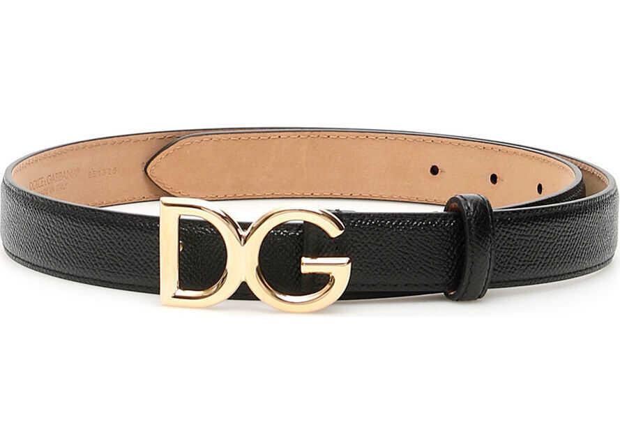 Dolce & Gabbana Dg Millennials Belt NERO