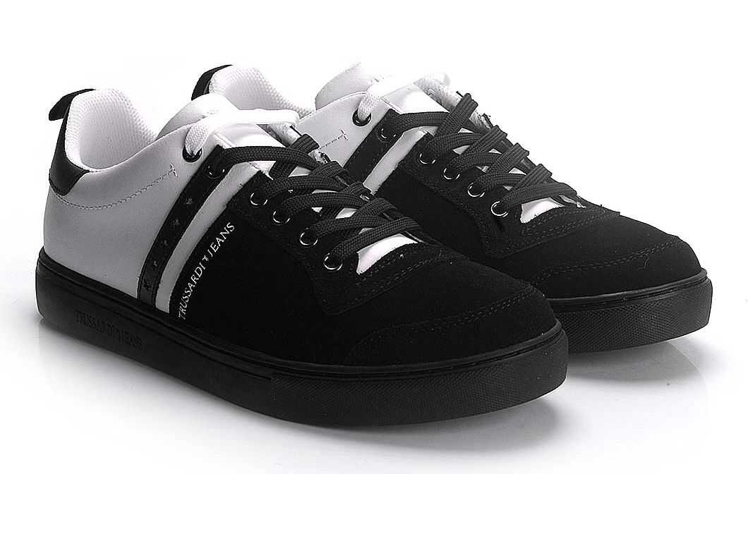 Trussardi 77A00110 Czarny, Biały