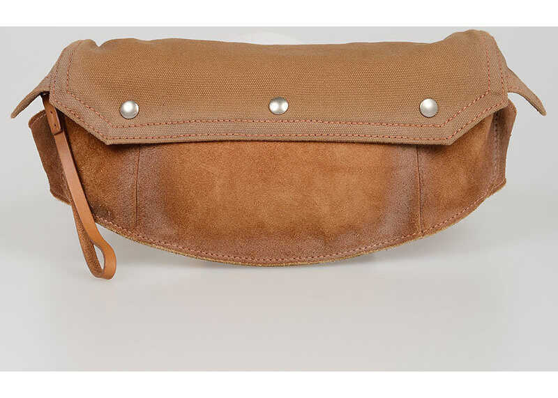 Maison Margiela Suede Leather Pouch BROWN