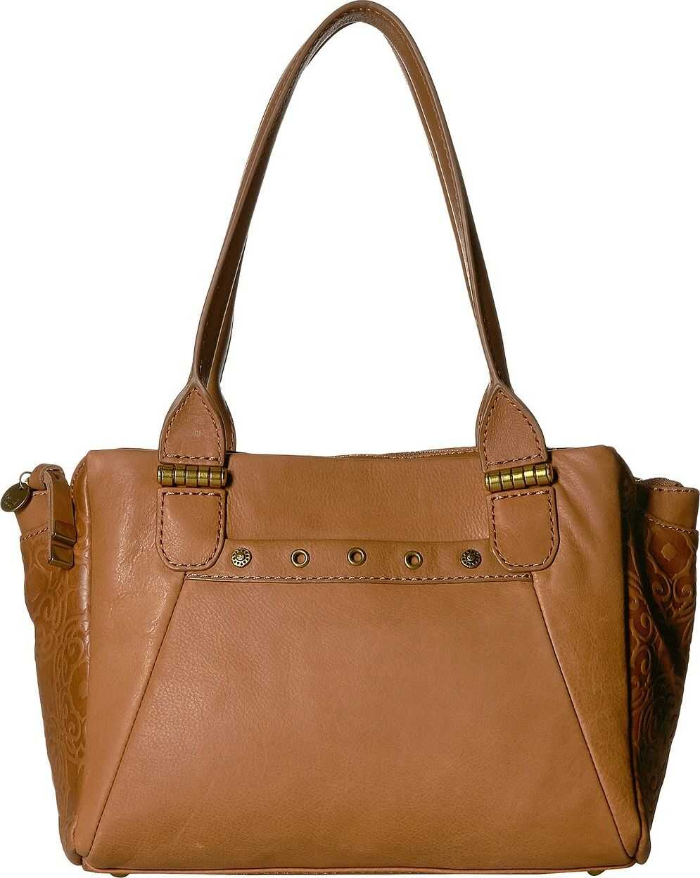 The Sak Serena Satchel by The Sak Collective Tobacco Souk Embossed