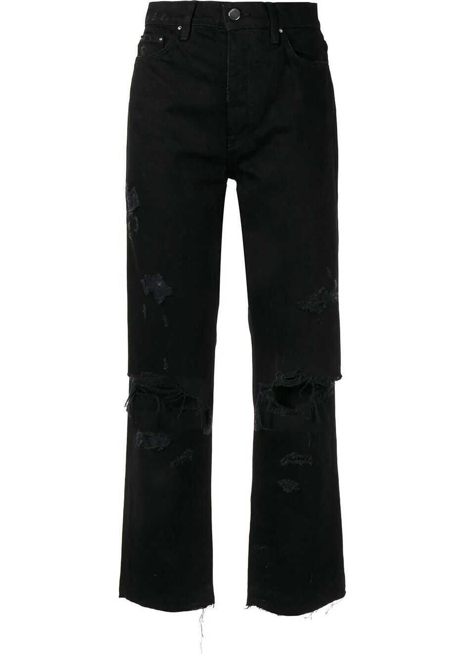 AMIRI Cotton Jeans BLACK