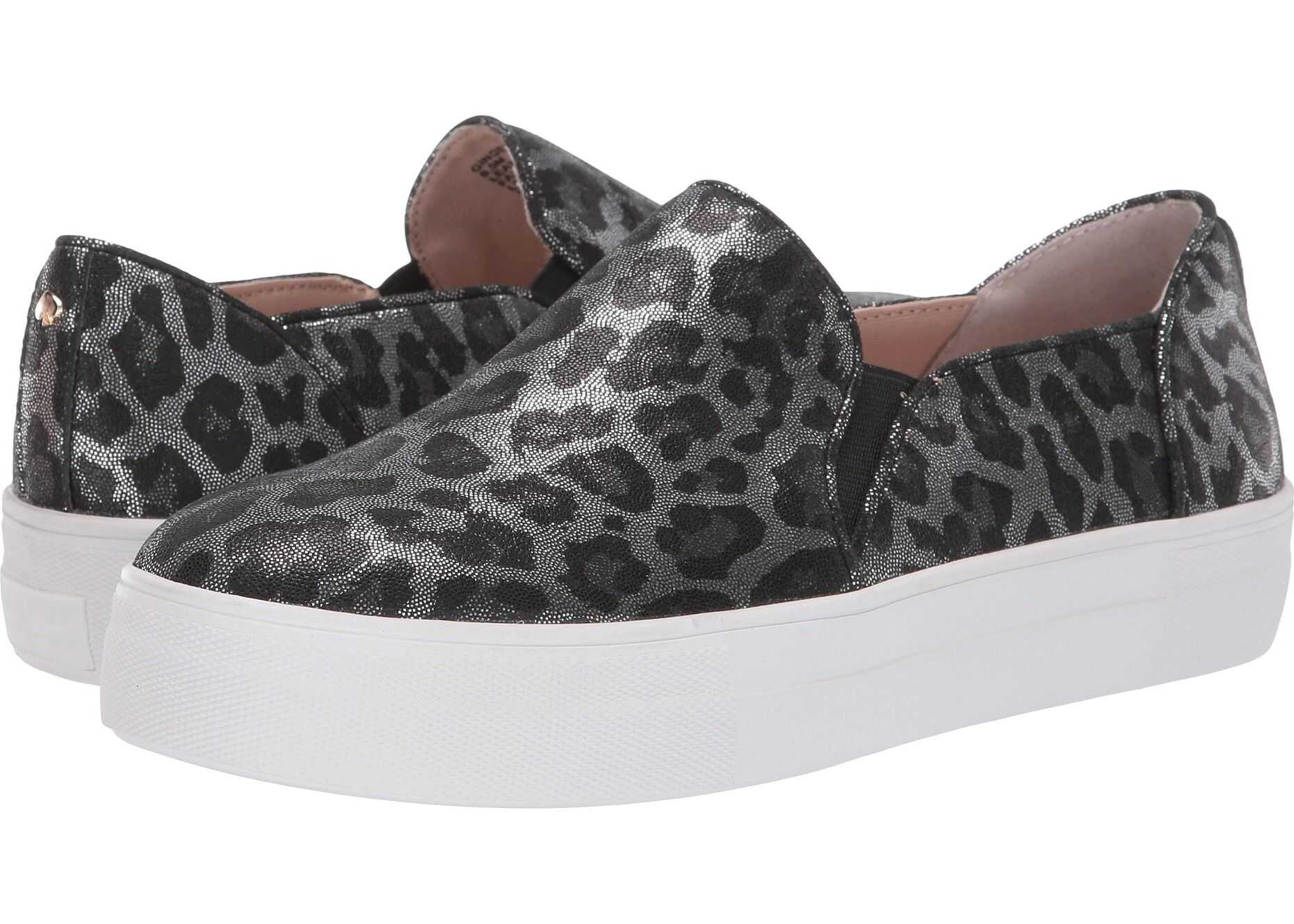 Kate Spade New York Ginger Grey Metallic Leopard