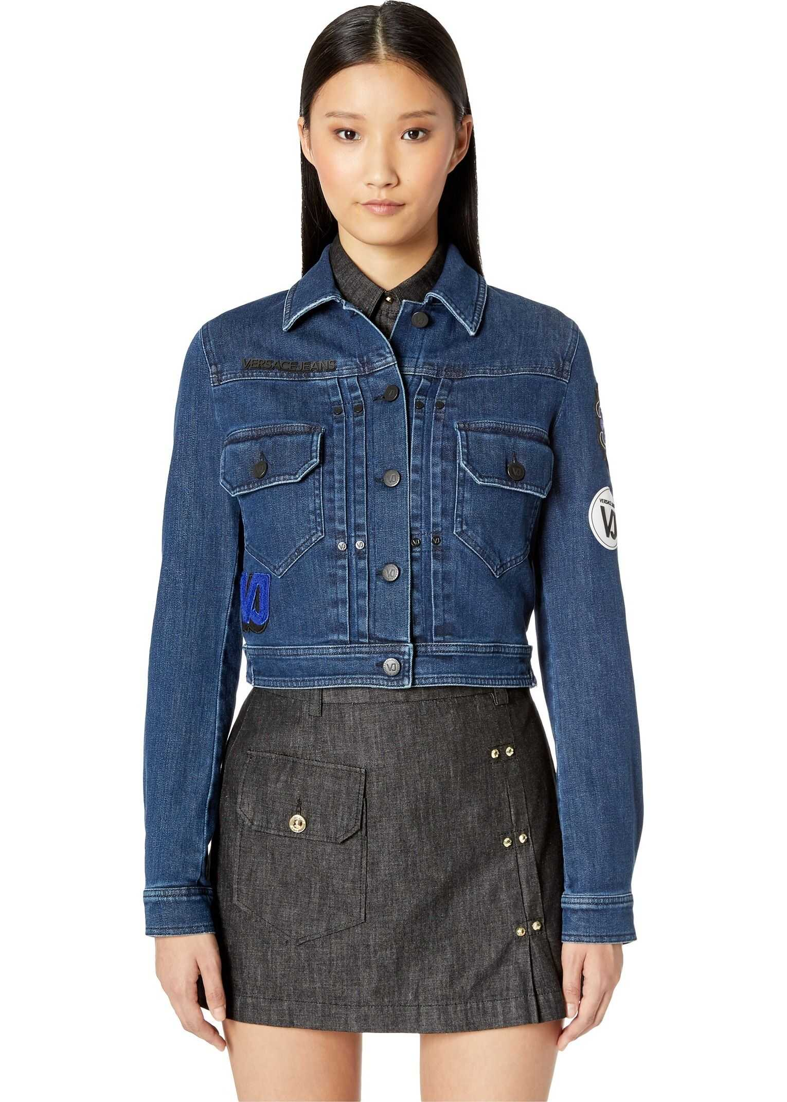 Versace Jeans Couture Denim Jacket Indigo