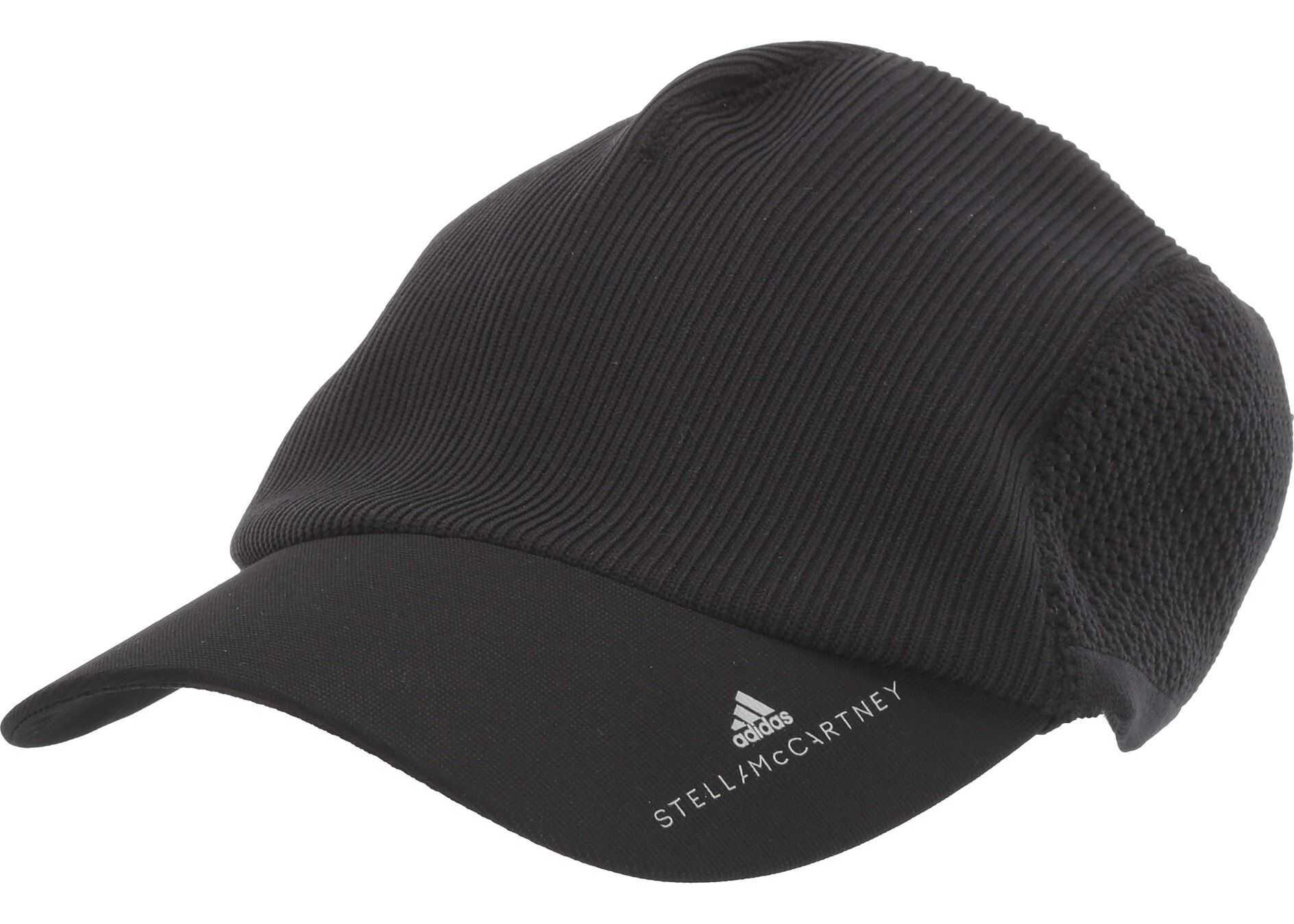 adidas by Stella McCartney Run Cap Knit DZ4855 Black/Reflective Silver