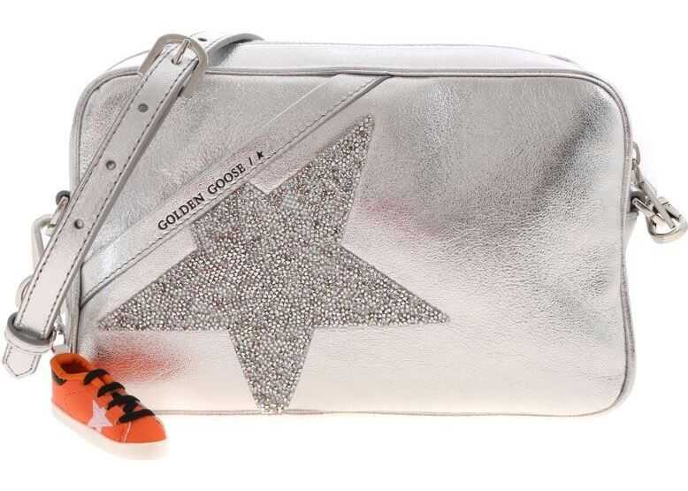 Star Shoulder Bag In Silver thumbnail