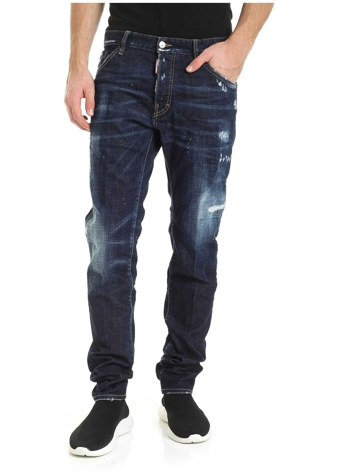 DSQUARED2 Cool Guy Blue Jeans Blue