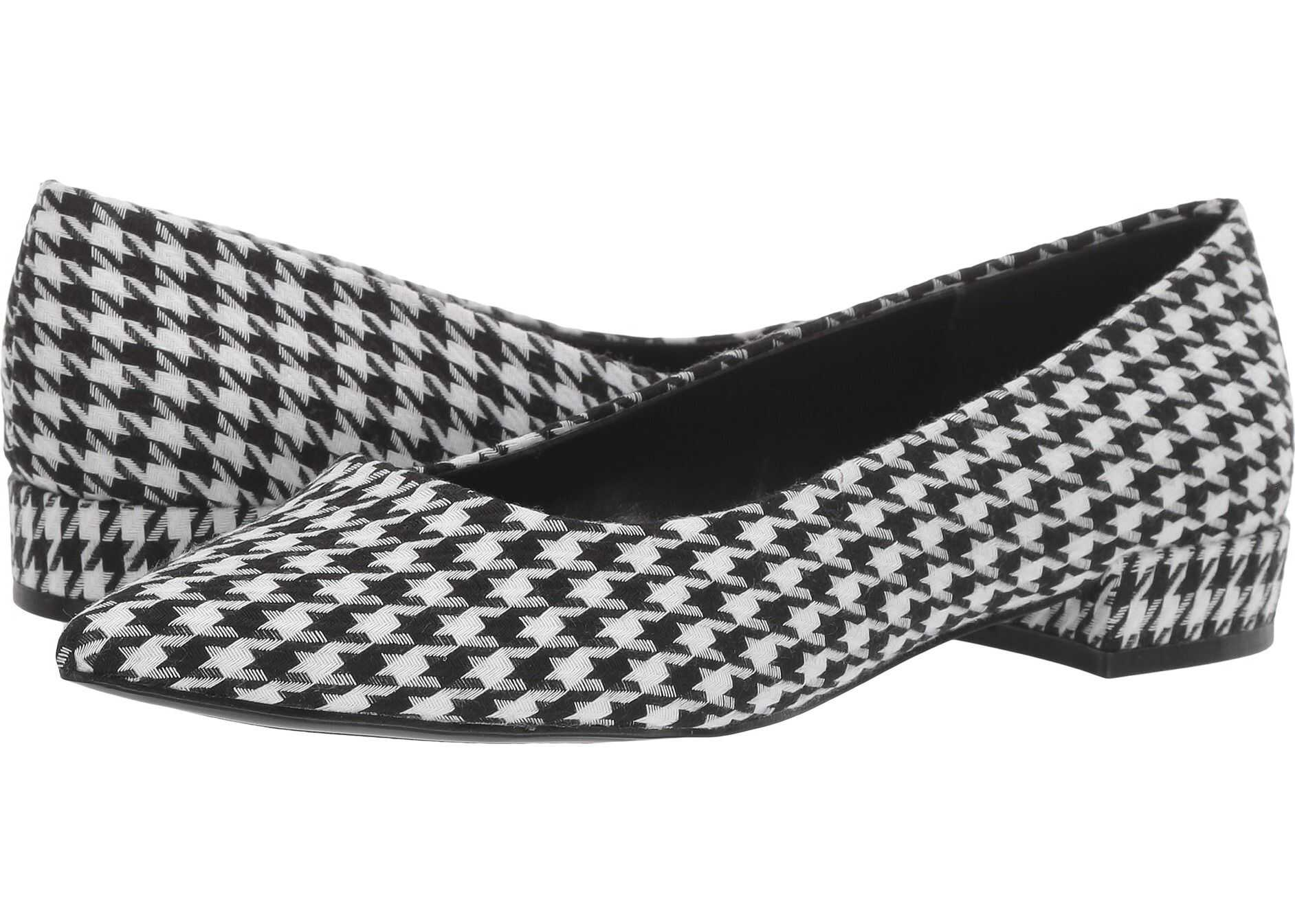 Nine West Fayth Flat* Black/White
