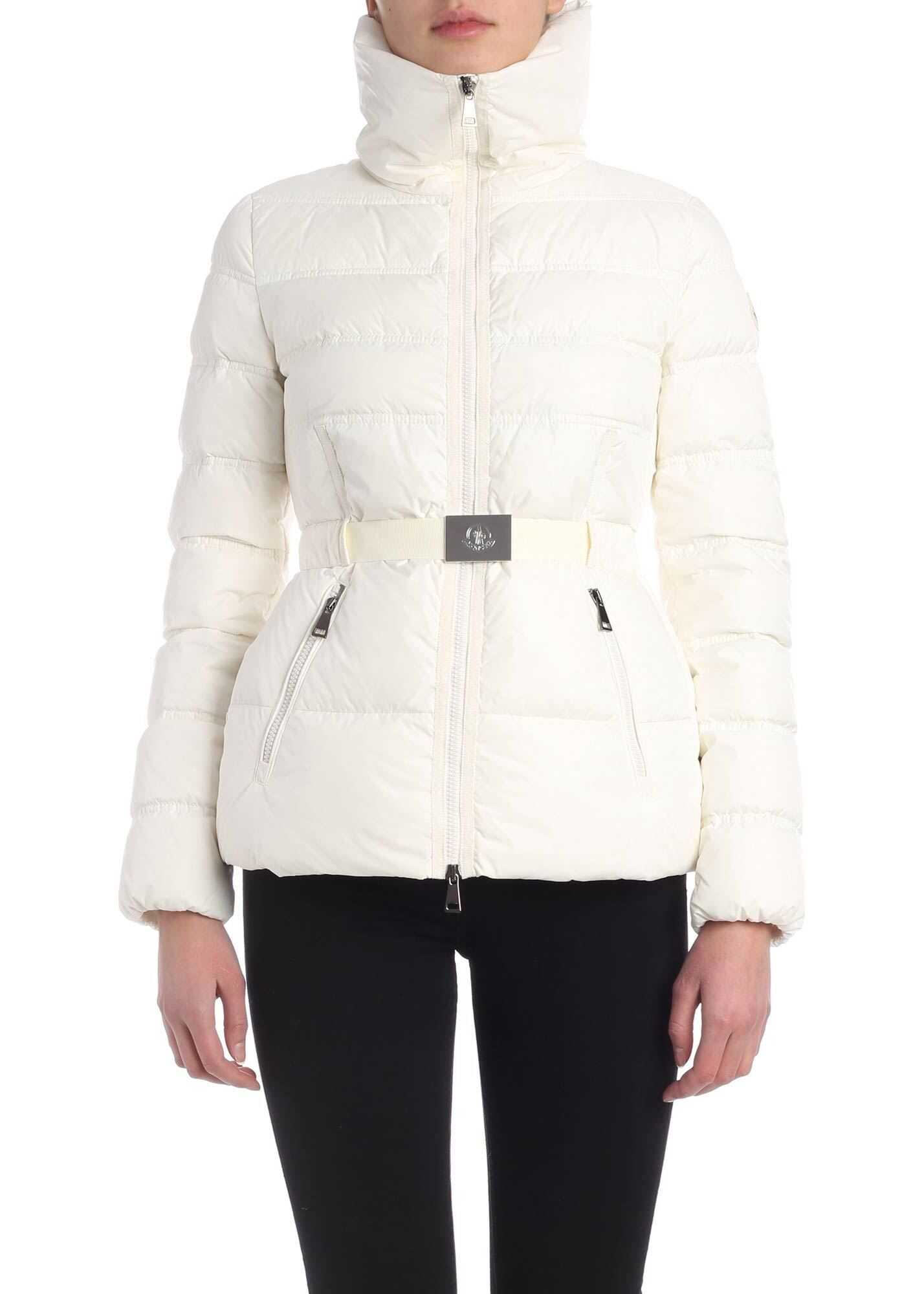 Moncler Alouette Down Jacket In White White