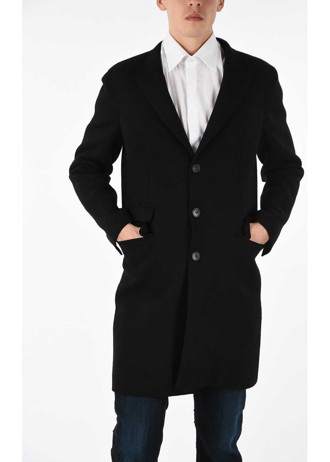 Neil Barrett Wool Coat BLUE