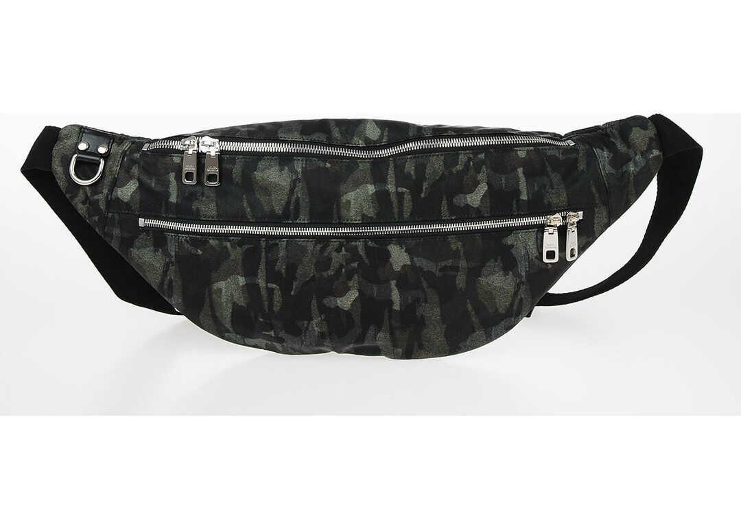 Dolce & Gabbana Military Printed Beltbag GREEN