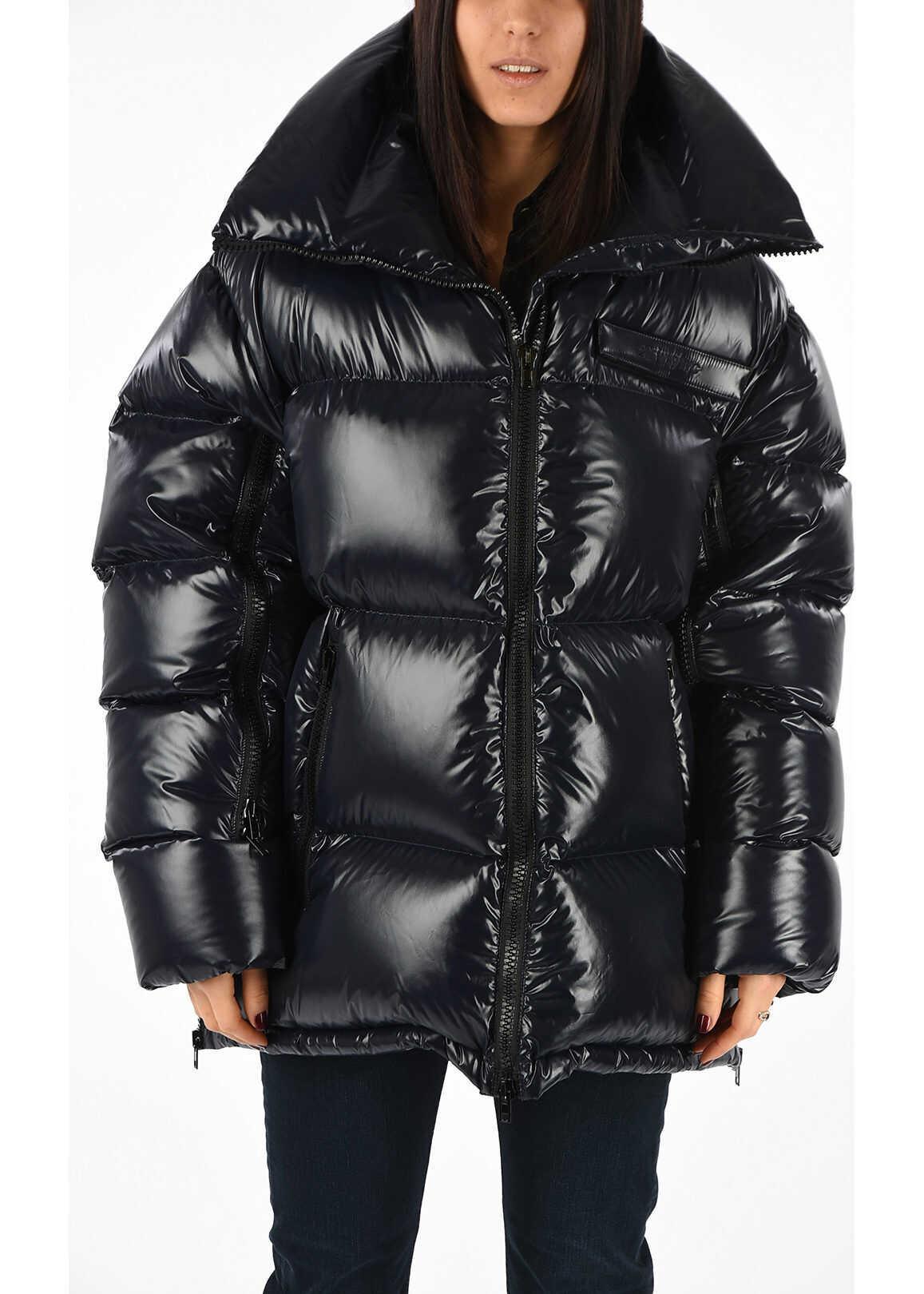 Calvin Klein 205W39NYC Nylon Down Jacket BLUE