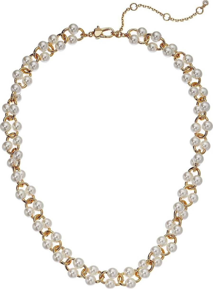 Kate Spade New York Nouveau Pearls Short Necklace White Multi